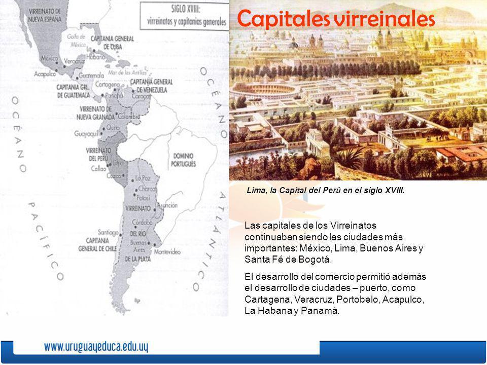 Capitales virreinales