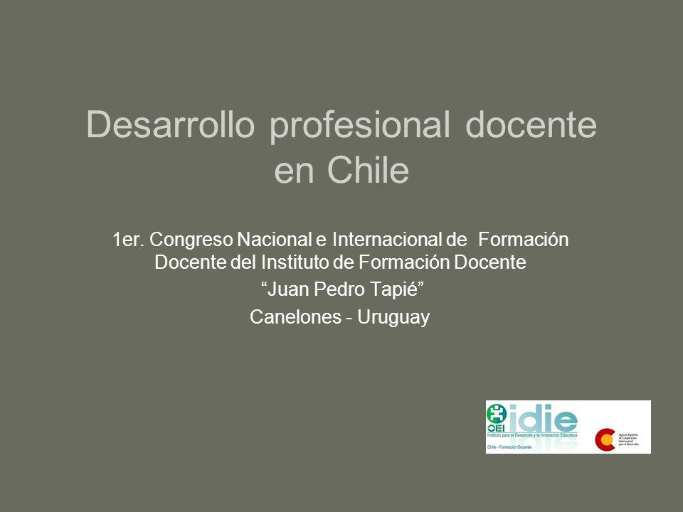 Desarrollo profesional docente en Chile
