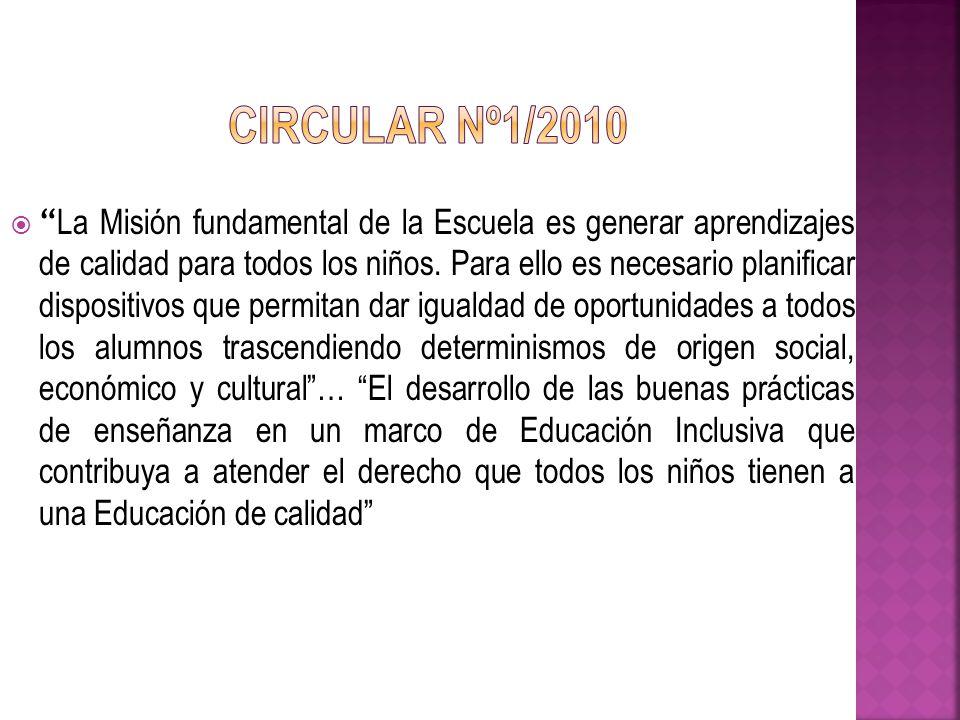 Circular Nº1/2010