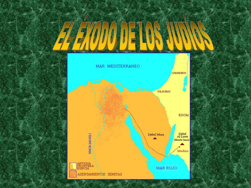 EL ÉXODO DE LOS JUDÍOS
