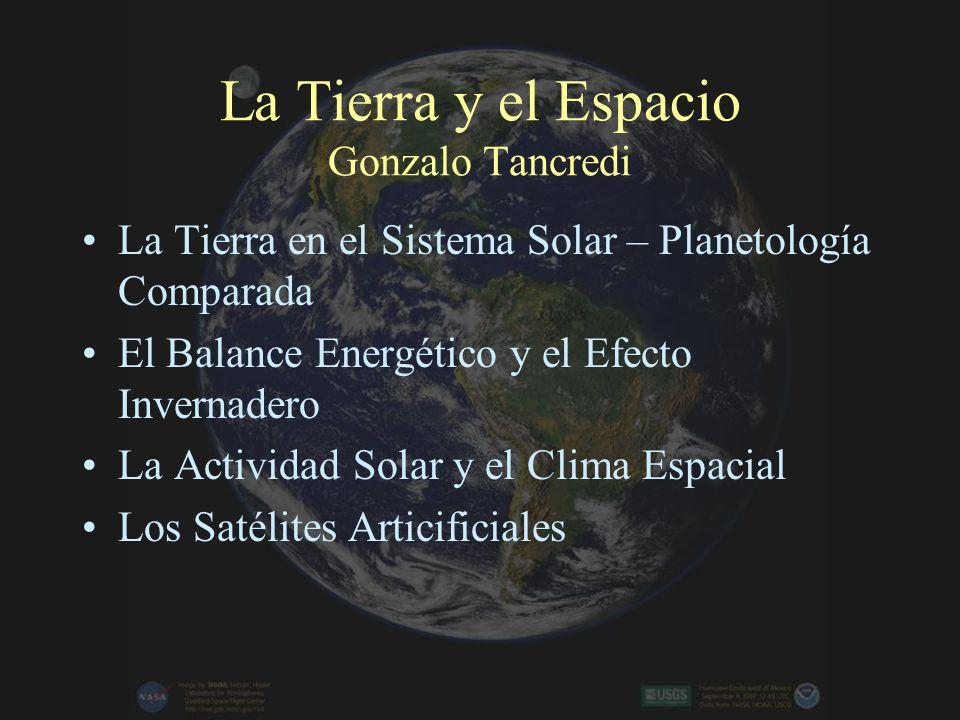 La Tierra y el Espacio Gonzalo Tancredi