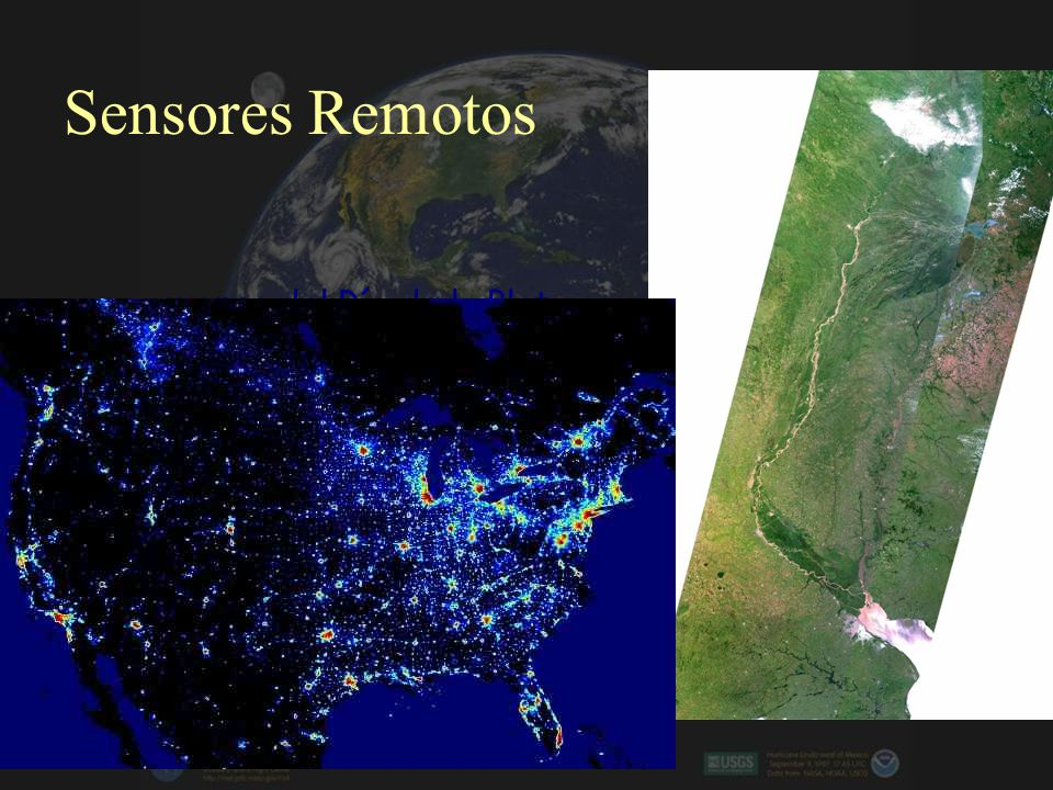 Sensores Remotos cuenca del Río de la Plata Sistema Fluvial del Plata