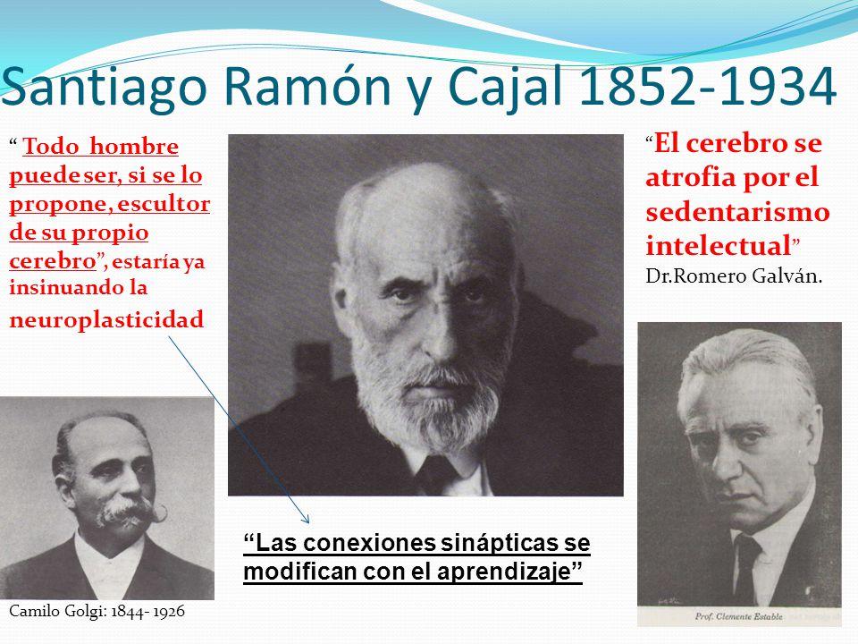 Santiago Ramón y Cajal 1852-1934