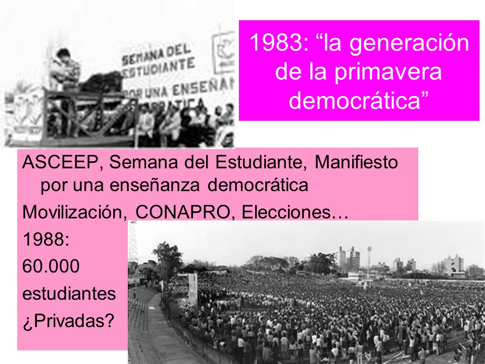 1983: la generación de la primavera democrática