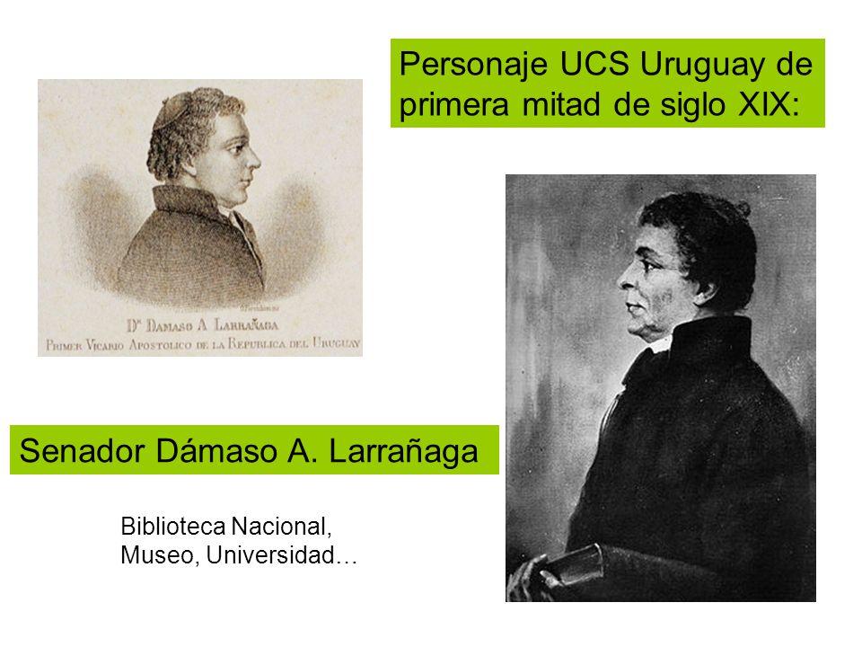Personaje UCS Uruguay de primera mitad de siglo XIX: