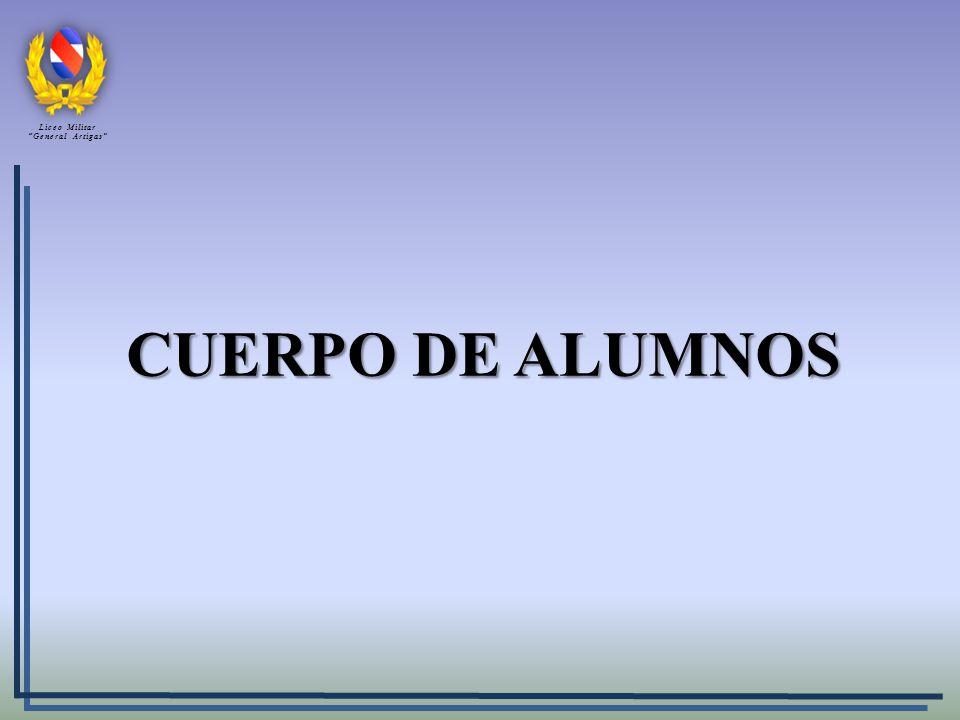 Liceo Militar General Artigas CUERPO DE ALUMNOS