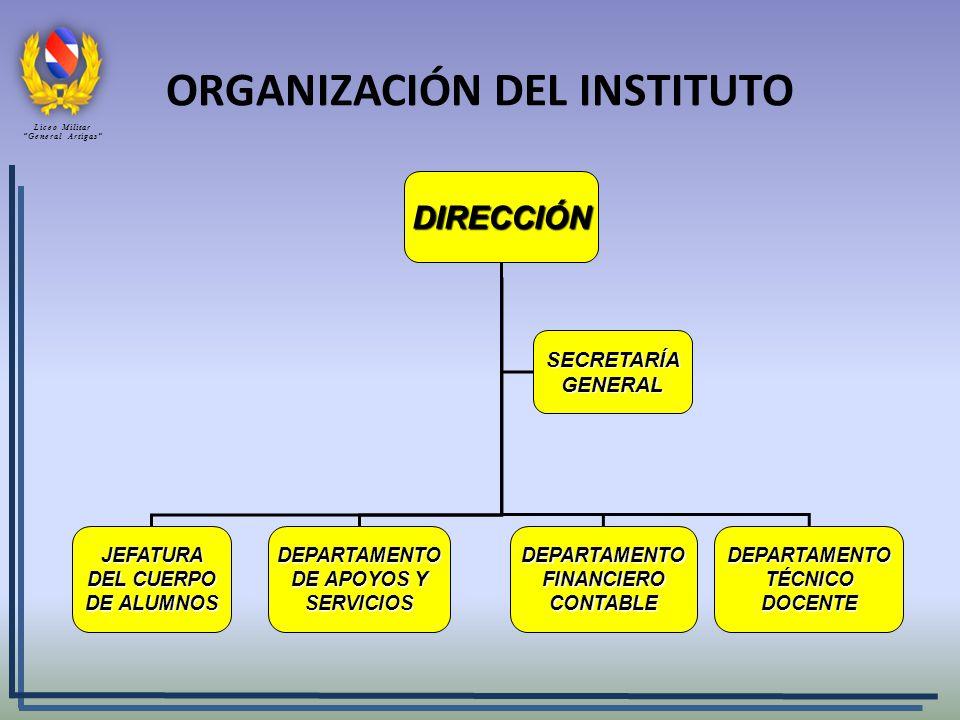 ORGANIZACIÓN DEL INSTITUTO