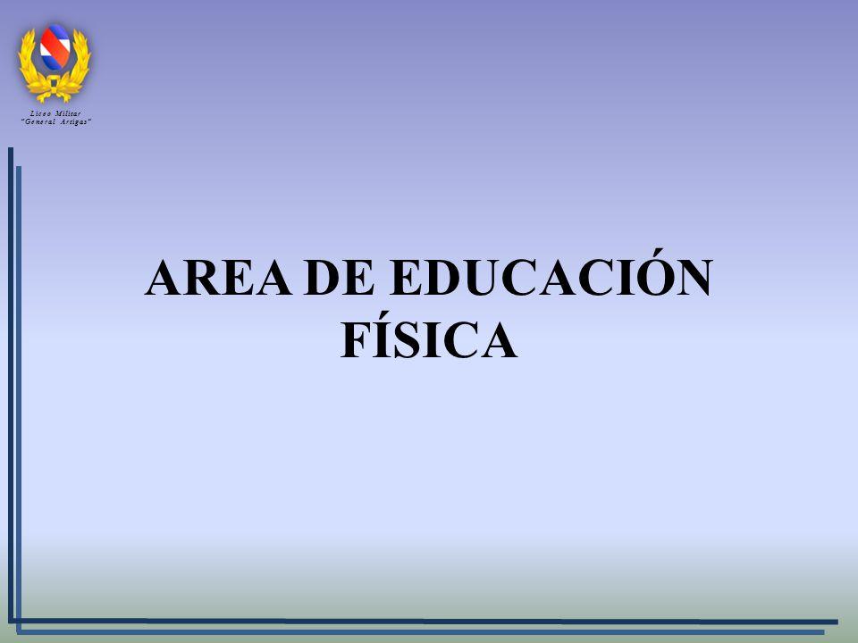 AREA DE EDUCACIÓN FÍSICA