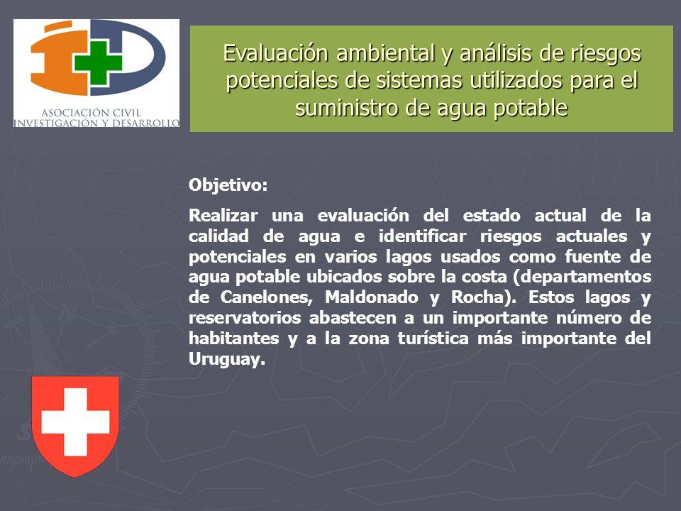Evaluación ambiental y análisis de riesgos potenciales de sistemas utilizados para el suministro de agua potable
