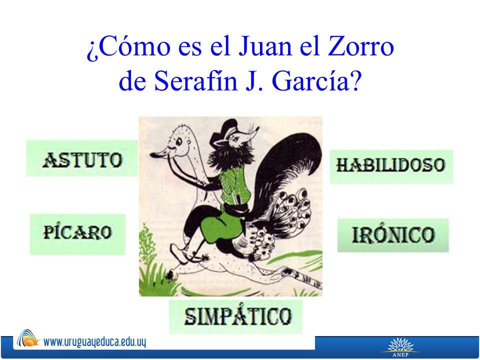 ¿Cómo es el Juan el Zorro de Serafín J. García