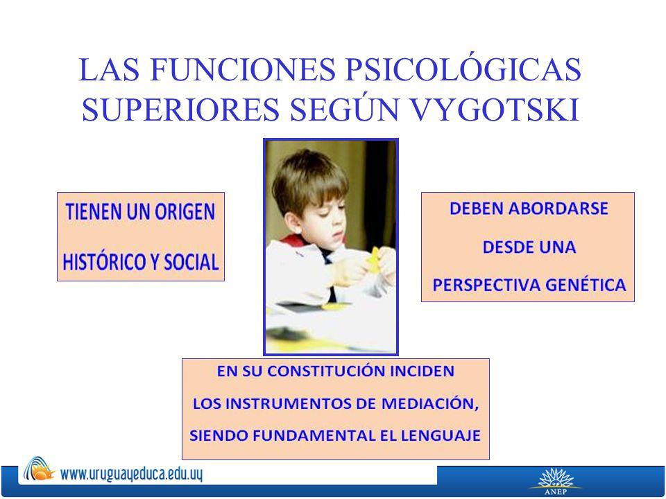 LAS FUNCIONES PSICOLÓGICAS SUPERIORES SEGÚN VYGOTSKI