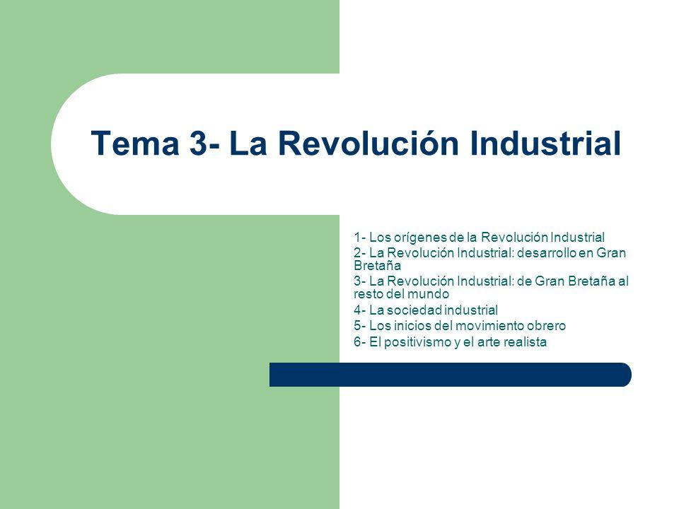 Tema 3- La Revolución Industrial