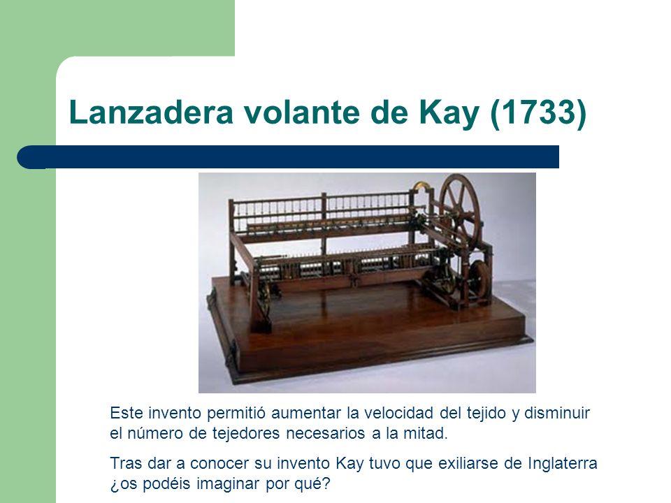 Lanzadera volante de Kay (1733)