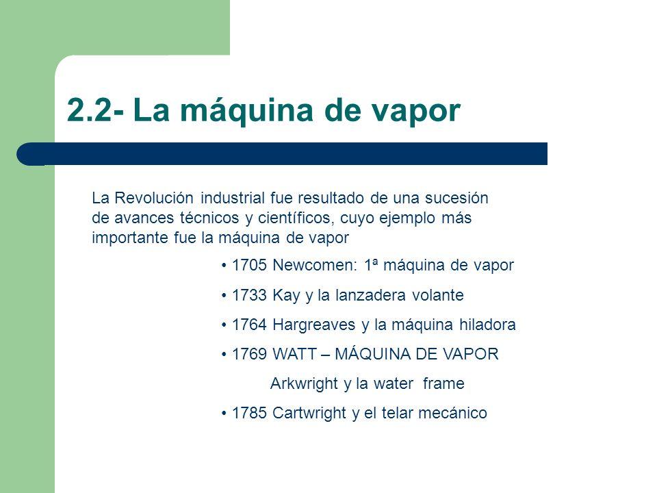 2.2- La máquina de vapor