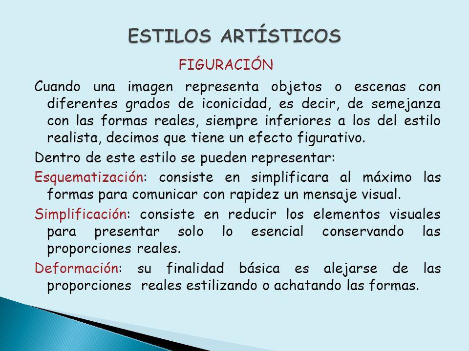 ESTILOS ARTÍSTICOS FIGURACIÓN