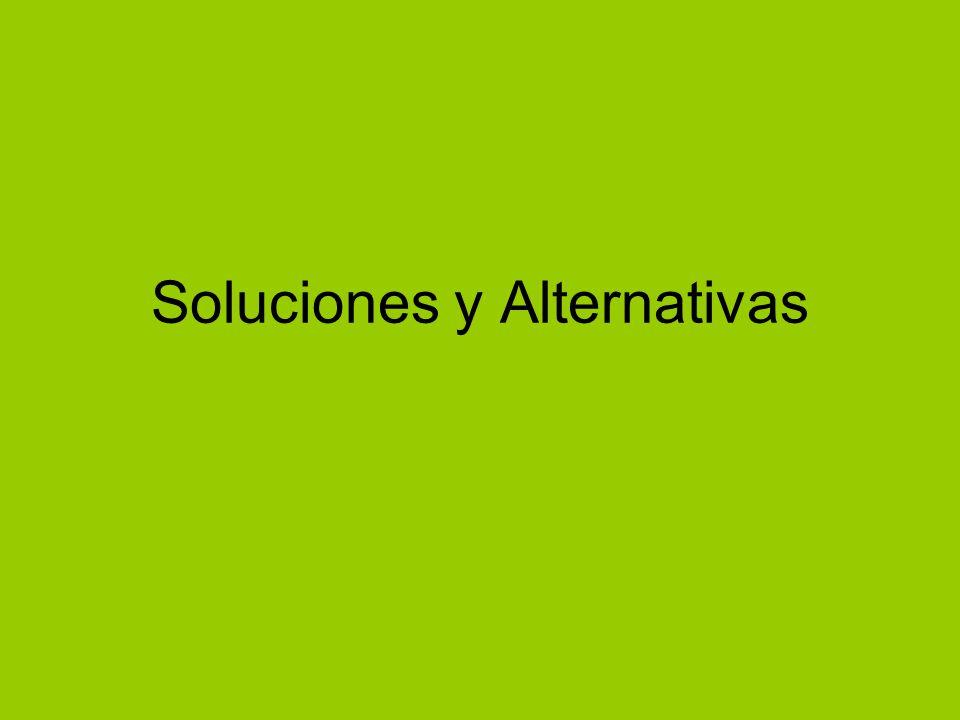 Soluciones y Alternativas