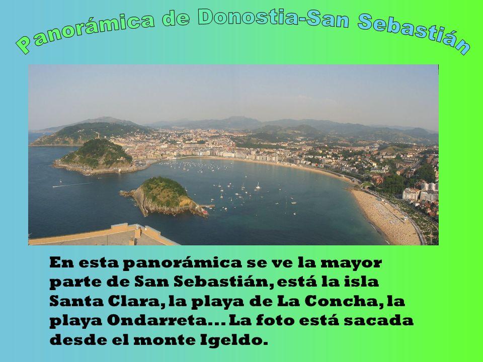 Panorámica de Donostia-San Sebastián