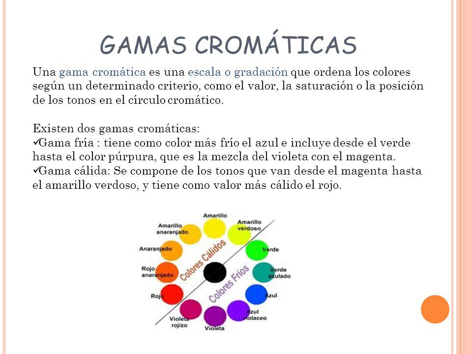 GAMAS CROMÁTICAS