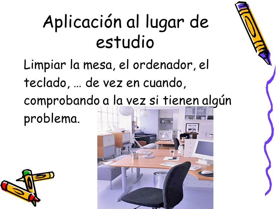 Aplicación al lugar de estudio