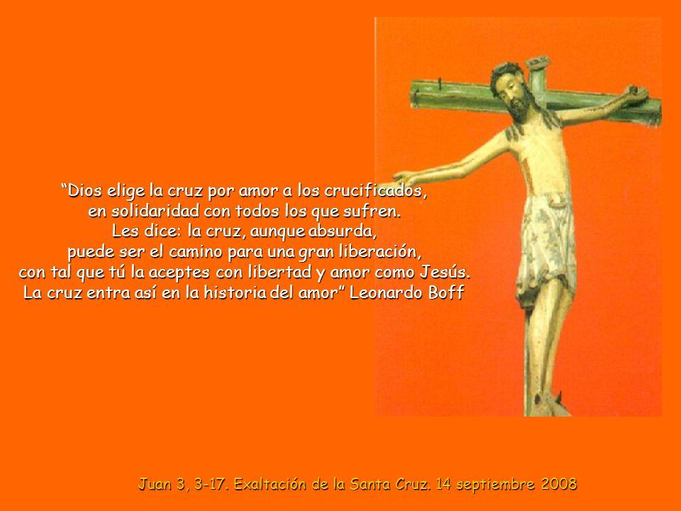 Juan 3, 3-17. Exaltación de la Santa Cruz. 14 septiembre 2008