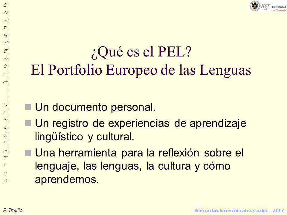 ¿Qué es el PEL El Portfolio Europeo de las Lenguas