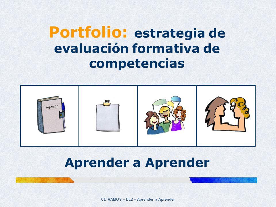 Portfolio: estrategia de evaluación formativa de competencias