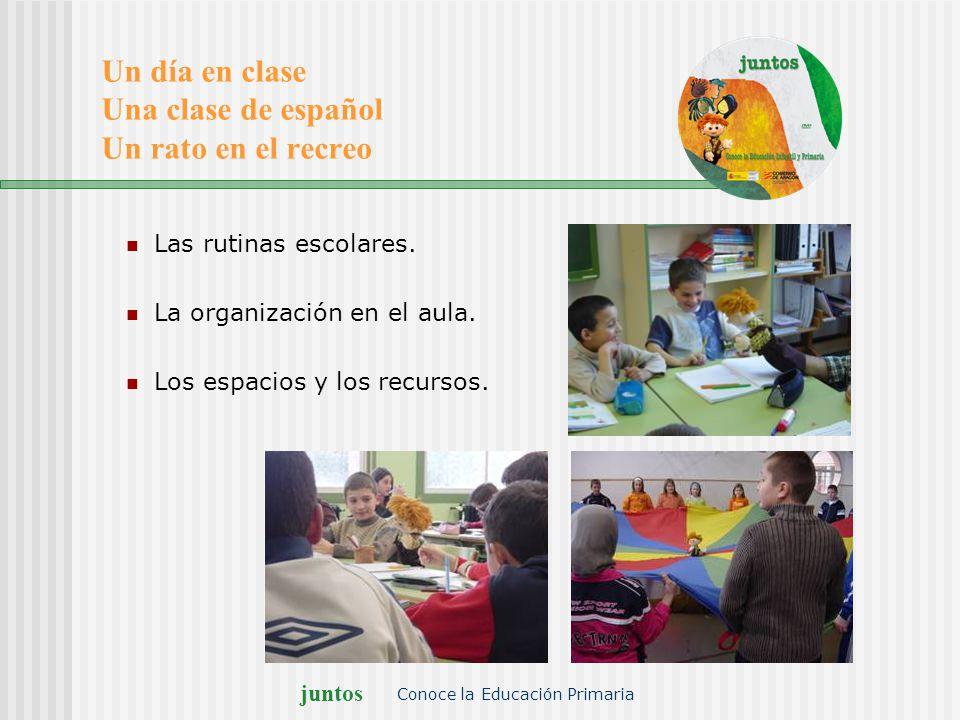 Un día en clase Una clase de español Un rato en el recreo