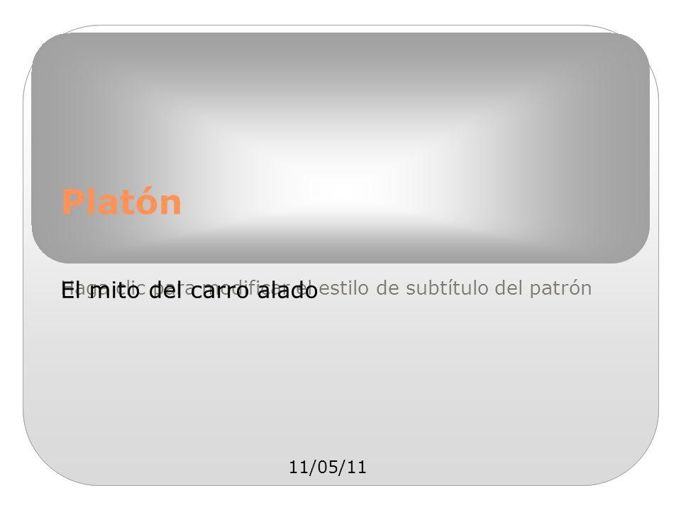 Platón El mito del carro alado 11/05/11