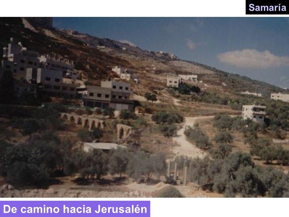 De camino hacia Jerusalén
