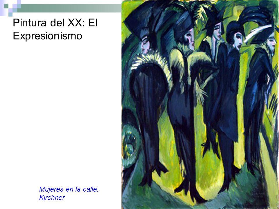 Pintura del XX: El Expresionismo