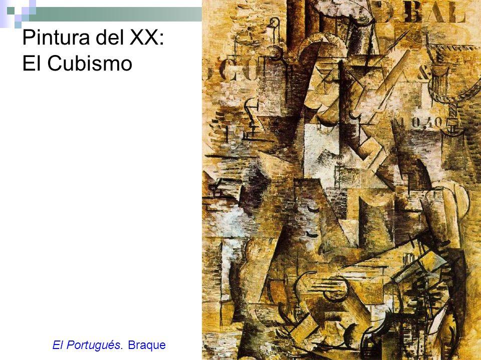 Pintura del XX: El Cubismo