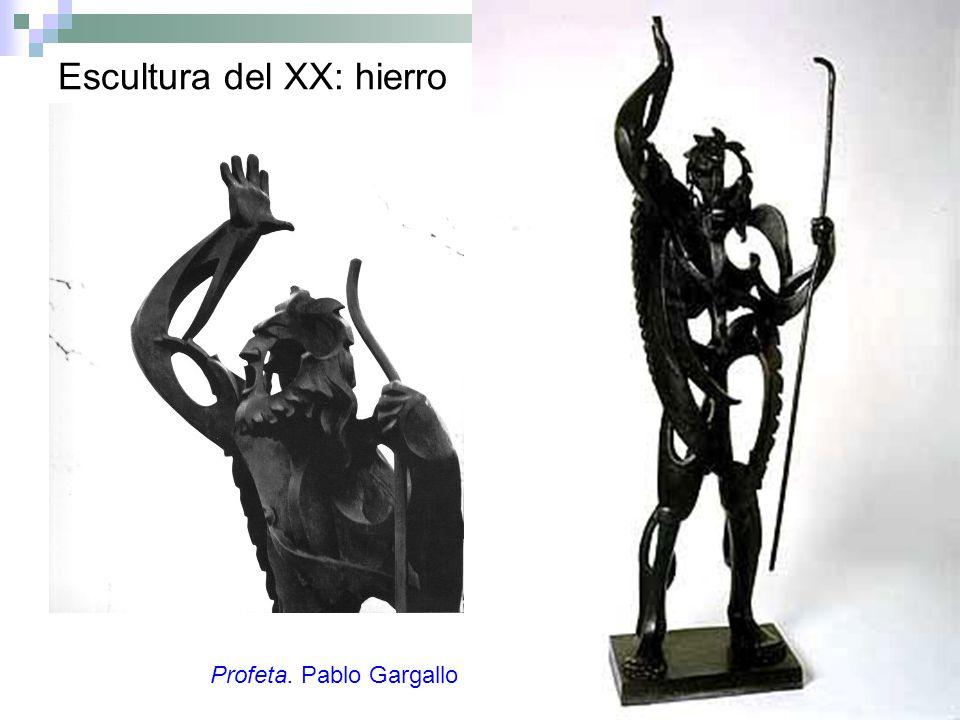 Escultura del XX: hierro