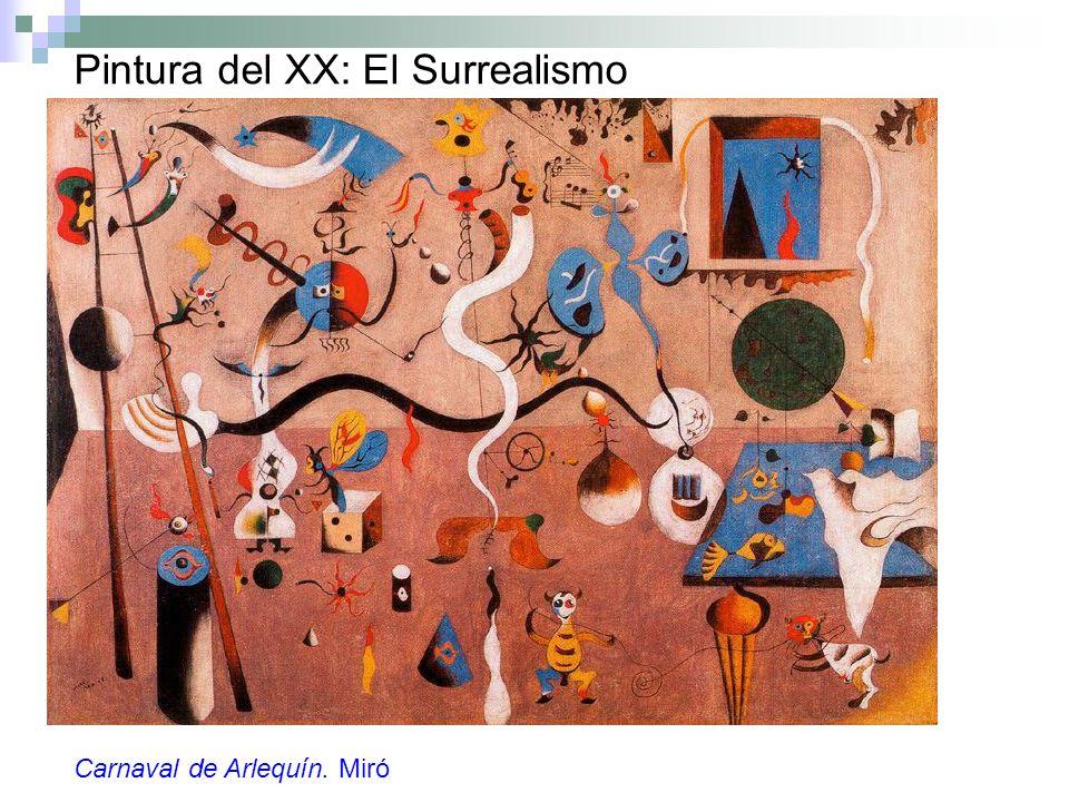 Pintura del XX: El Surrealismo