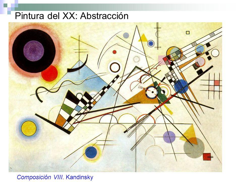 Pintura del XX: Abstracción