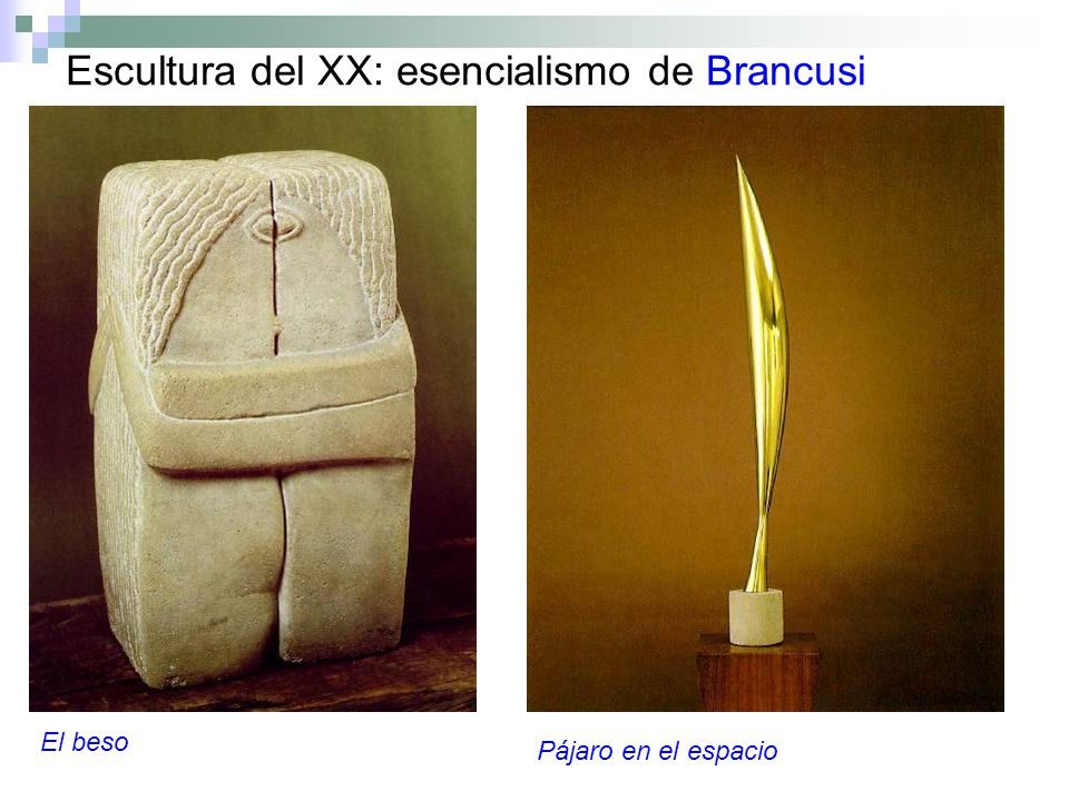 Escultura del XX: esencialismo de Brancusi