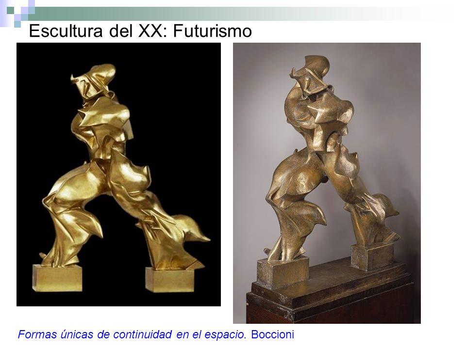Escultura del XX: Futurismo