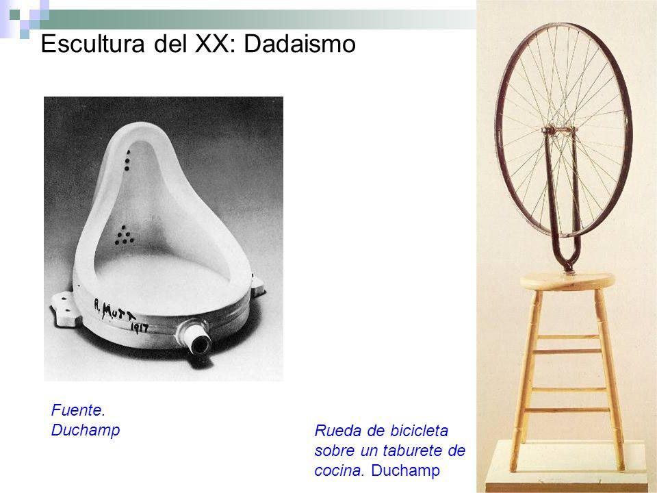 Escultura del XX: Dadaismo