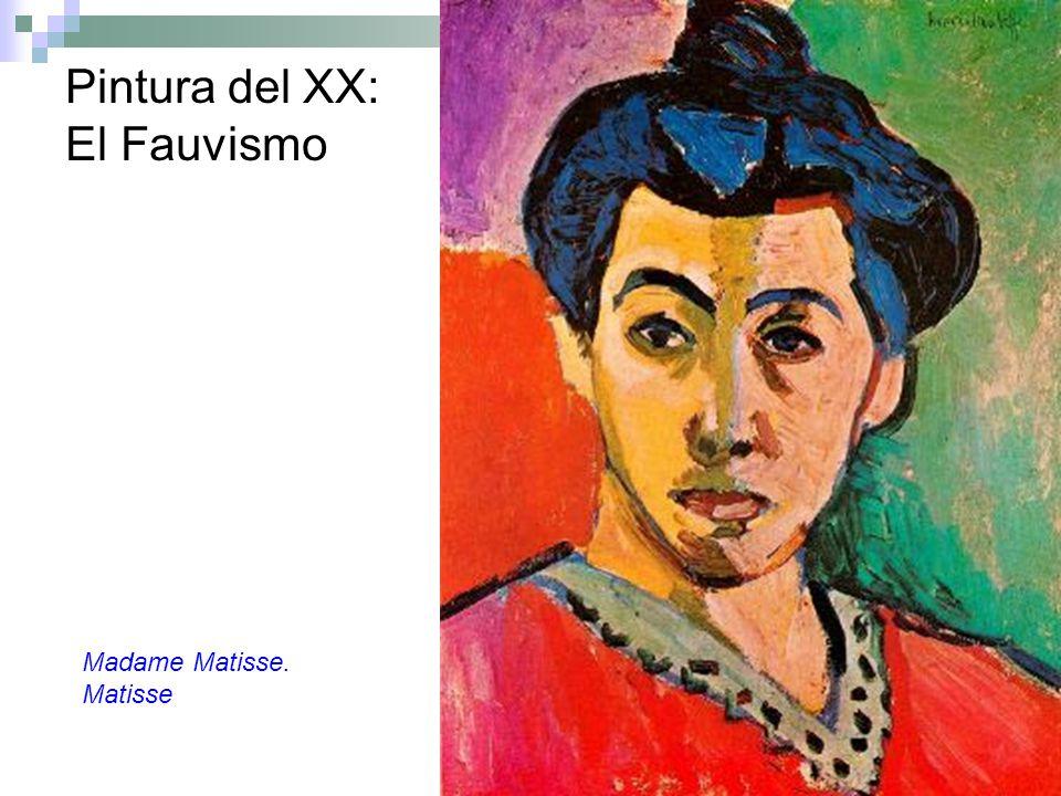 Pintura del XX: El Fauvismo