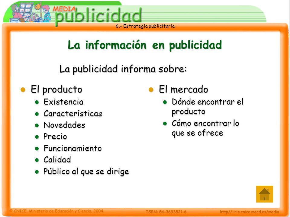 La información en publicidad
