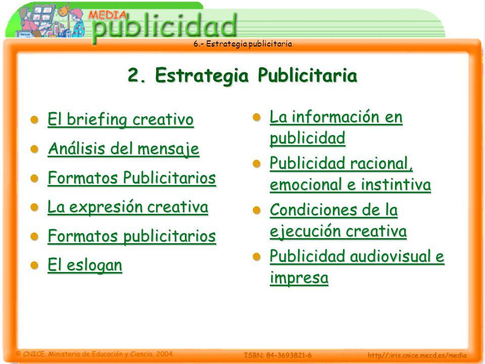 2. Estrategia Publicitaria