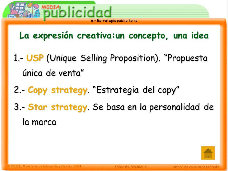 La expresión creativa:un concepto, una idea
