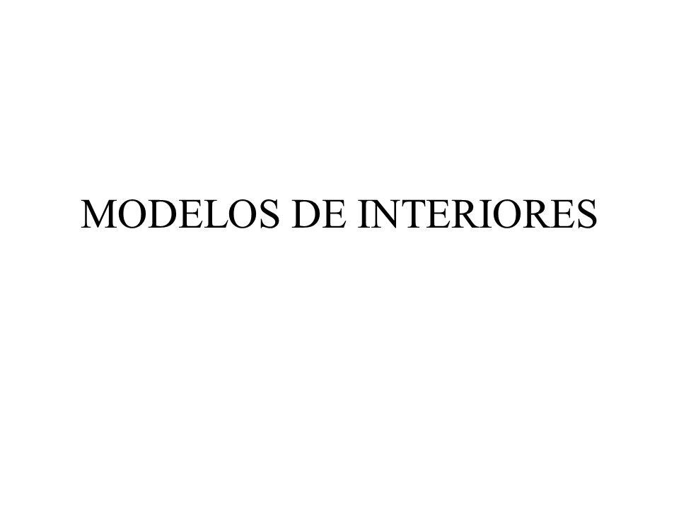 MODELOS DE INTERIORES