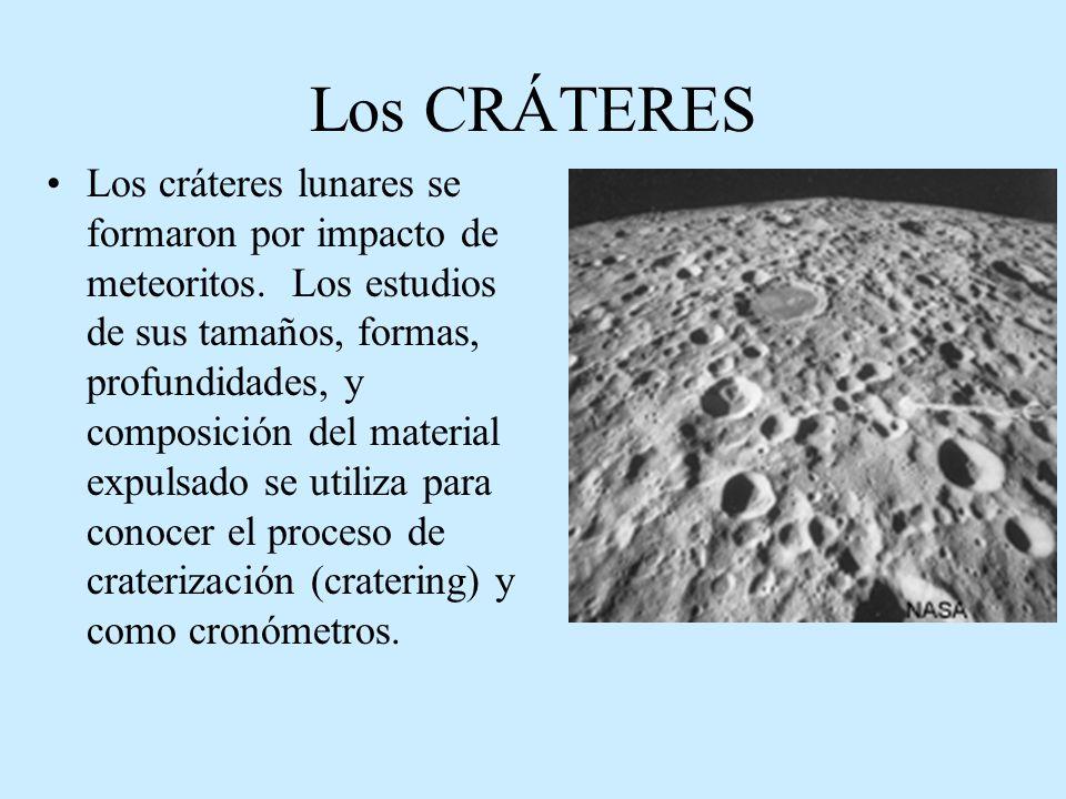 Los CRÁTERES