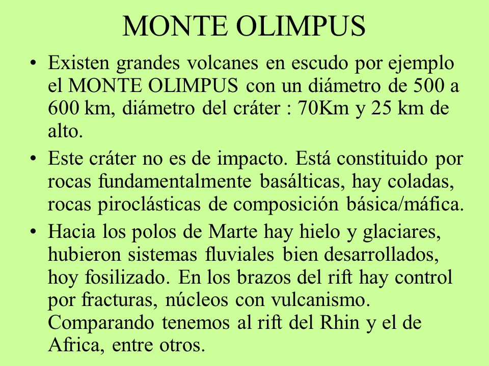 MONTE OLIMPUS