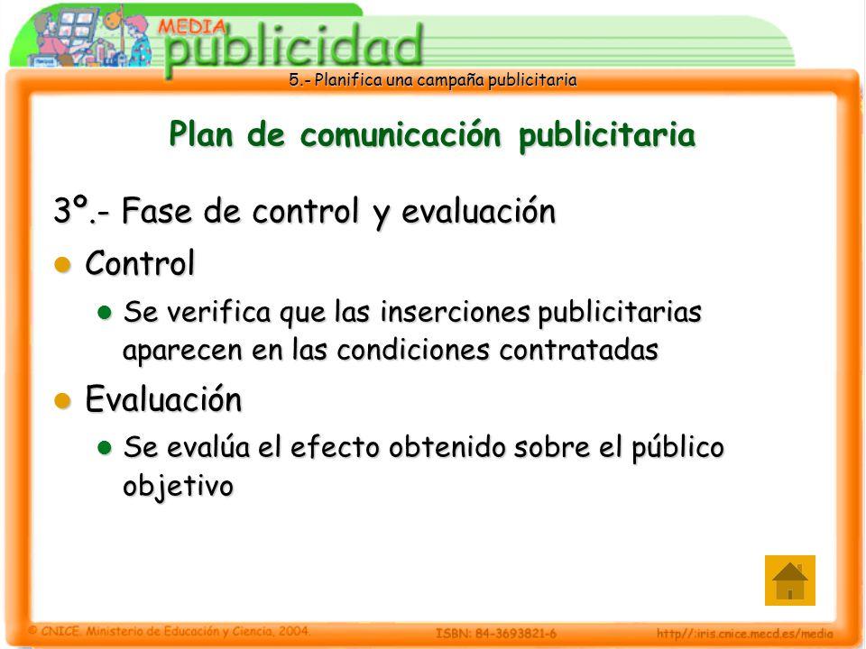 Plan de comunicación publicitaria