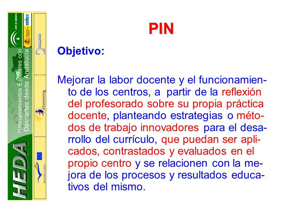 PIN Objetivo: