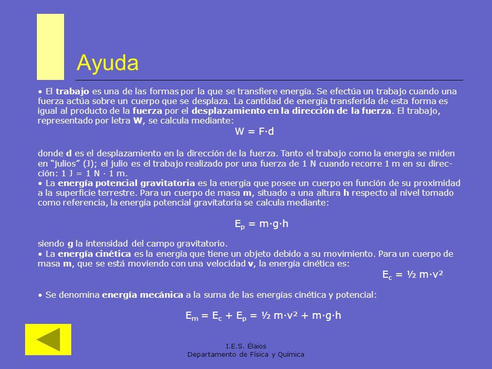 Departamento de Física y Química