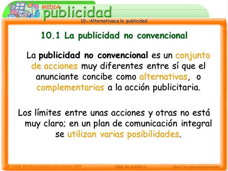 10.1 La publicidad no convencional