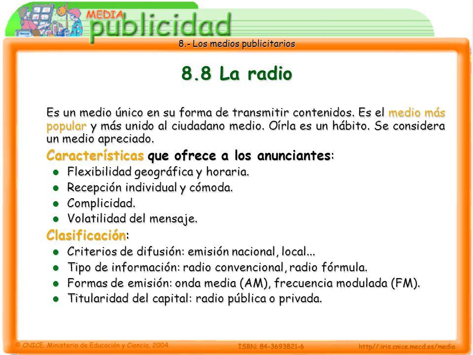 8.8 La radio