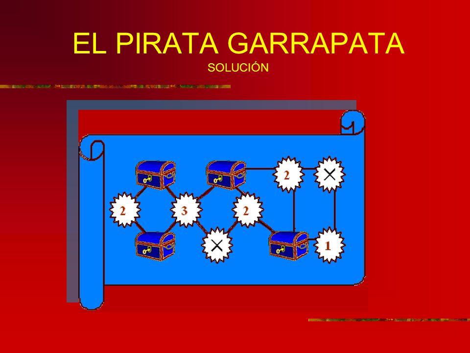 EL PIRATA GARRAPATA SOLUCIÓN